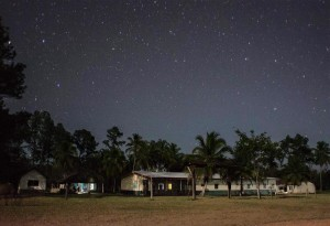The field hospital in Rus Rus, Gracias a DIos, Honduras